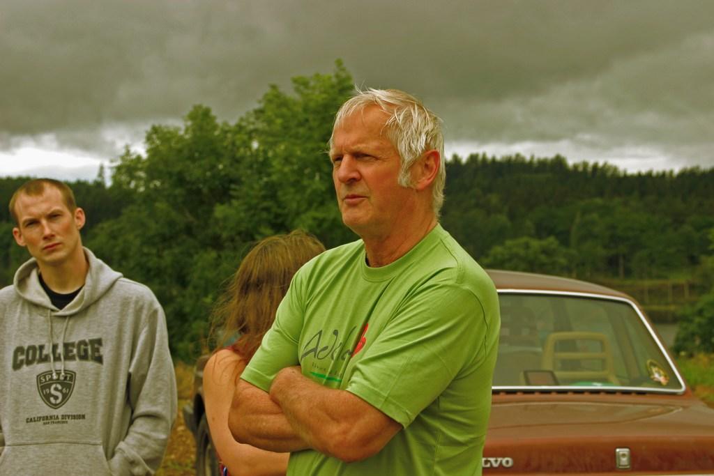 Ingemar Karlsson, ägare av vindkraftverk och ordförande i Framtidsgruppen
