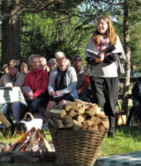 Präst: Hannah Klint Lidegran