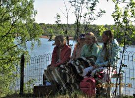 Jonna och Stina Andersson, Lisen Gustafson och Amy Nyström